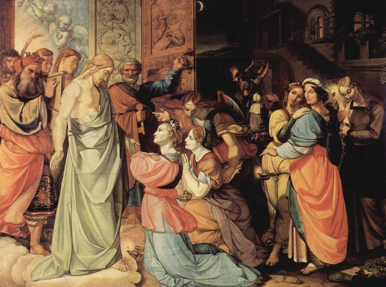 Peter von Cornelius - Die klugen und die törichten Jungfrauen