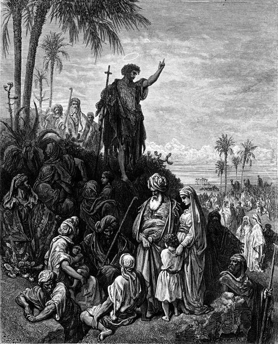 Teachings of Jesus 5 of 40. parable of the mustard seed. Jan Luyken etching. Bowyer Bible