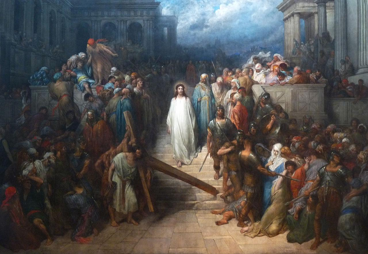Le Christ quittant le prétoire - Gustave Doré