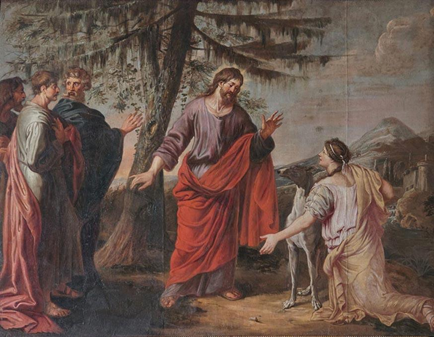 Michael Angelo Immenraet - Jesus and the Woman of Canaan