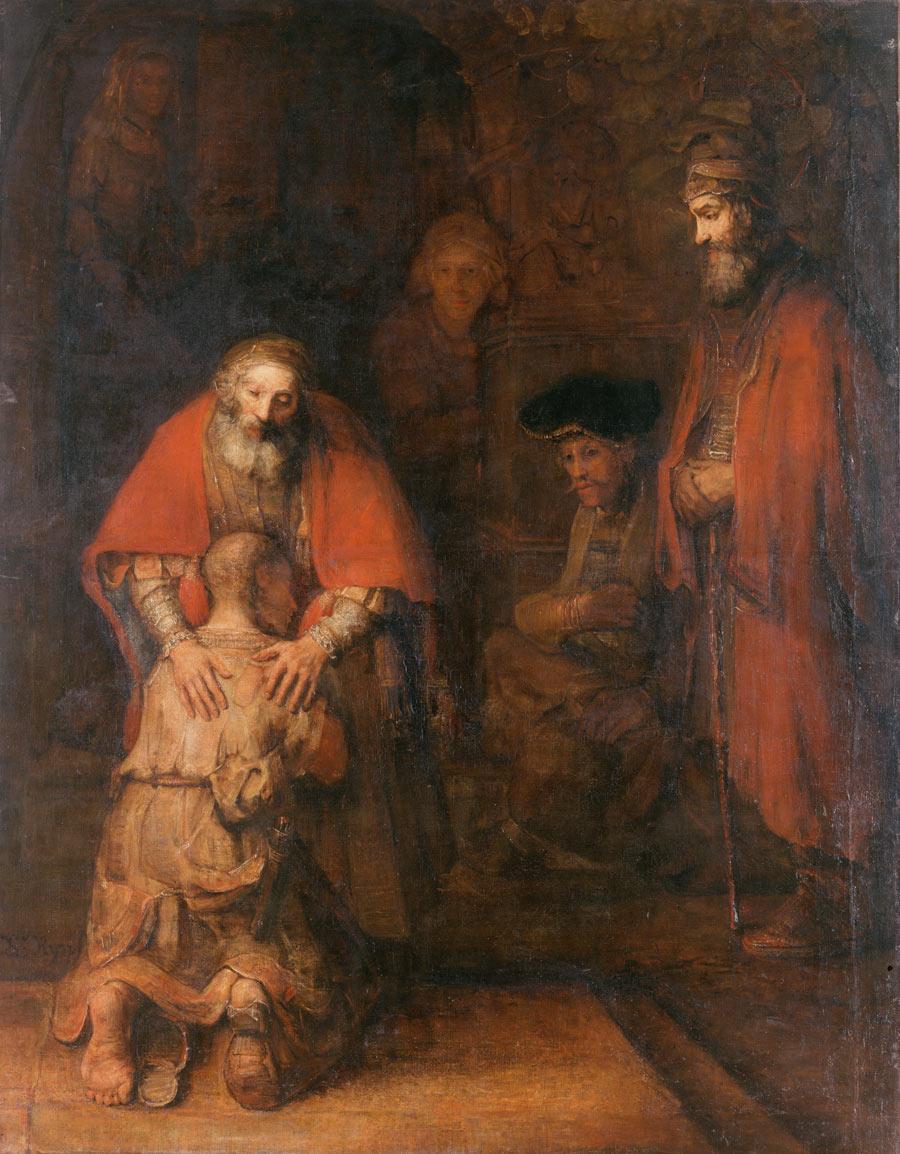 Rembrandt Harmensz. van Rijn - The Return of the Prodigal Son