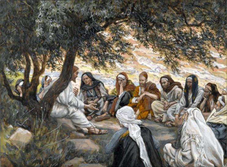 Brooklyn Museum - The Exhortation to the Apostles (Recommandation aux apôtres)